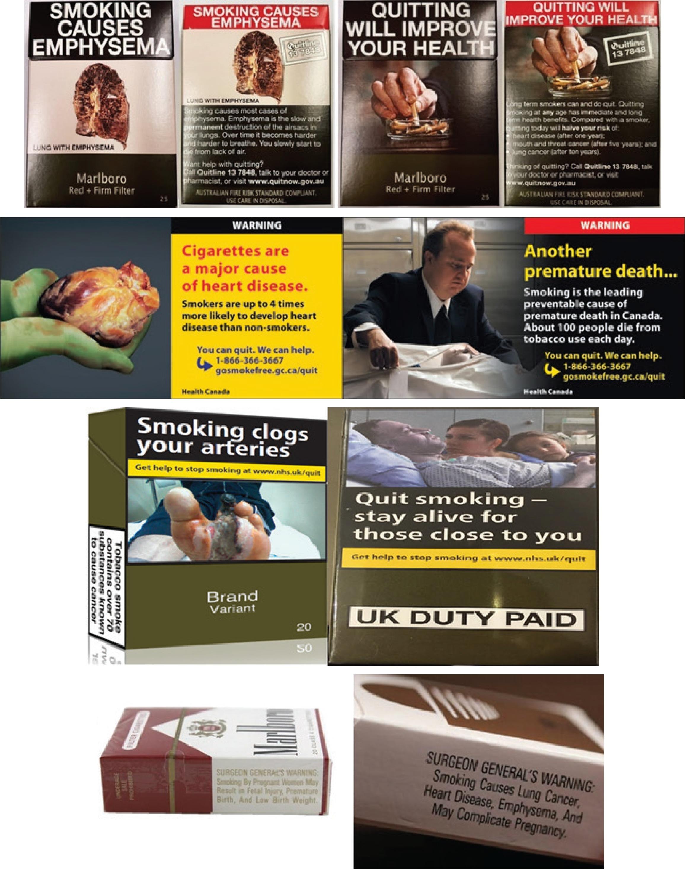 Smoker perceptions of health warnings on cigarette packaging